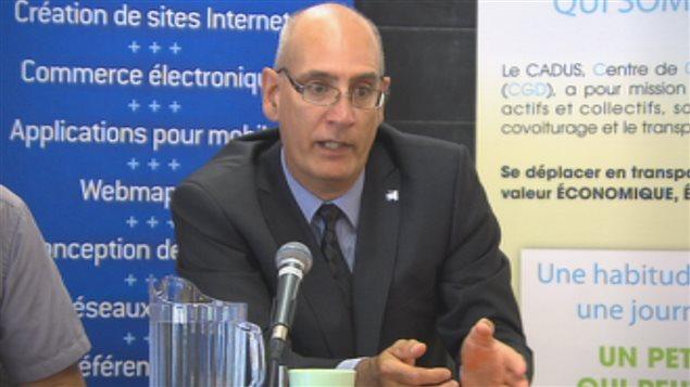 Claude A. Tremblay, administrateur du CADUS