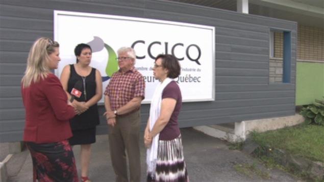 Le président de la Chambre de commerce et d'industrie du Coeur-du-Québec a rencontré le ministre Laurent Lessard