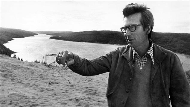 Robert Bourassa, alors premier ministre, en 1973 à la Baie James.