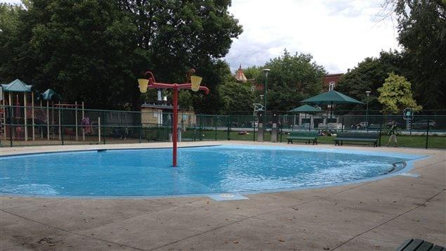 Pataugeoire de la piscine John F. Kennedy de l'arrondissement Outremont.