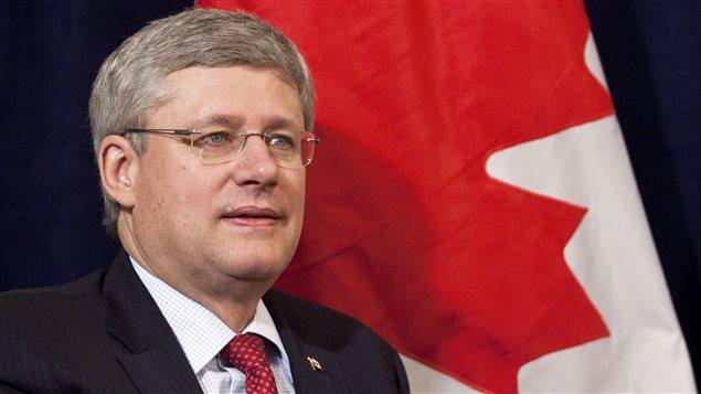 Le Premier ministre, Stephen Harper.
