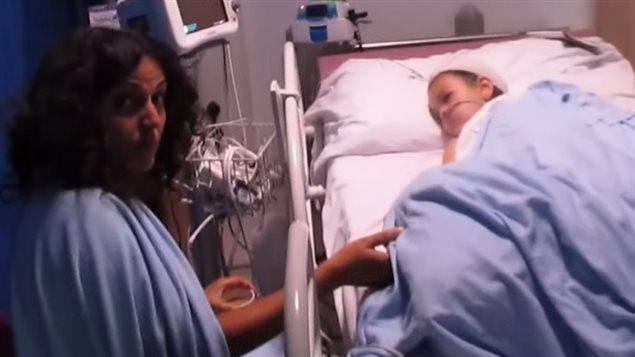 Ashya King et sa mère avaient été filmés en juillet par son frère, qui avait mise en ligne la vidéo sur YouTube.