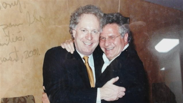 Jean Charest et Tony Accurso