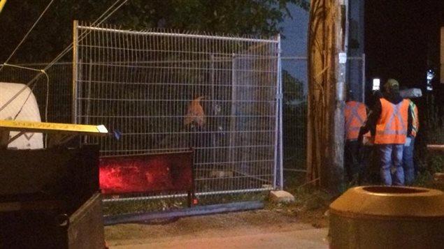 Une cloture protégera dorénavant le site de la rue Jacques-Cartier occupés pendant 43 jours par des manifestants autochtones.