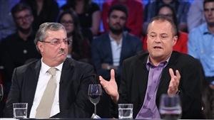 Tout le monde en parle - Sami Aoun et Charles-Philippe David - Émission du 21 septembre 2014