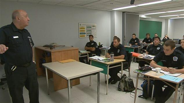 Étudiants en techniques policières