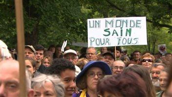 Marche pour le climat à Montréal, le 21 septembre