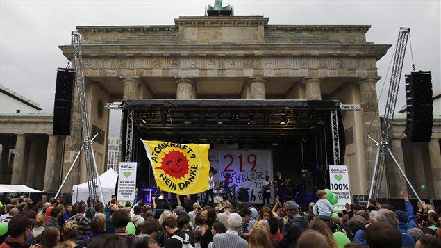 Des manifestants pour le climat à Berlin