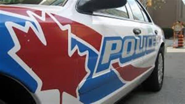 Véhicule de police à Windsor