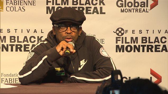 Le réalisateur américain Spike Lee