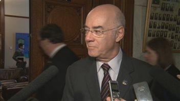 Jacques Daoust, ministre de l'Économie, de l'Innovation et de l'Exportation