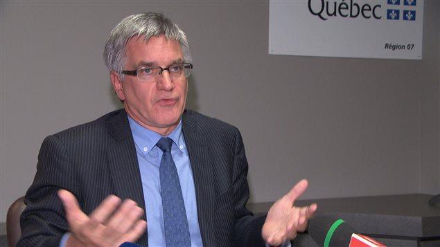 Jean Hébert, le PDG de l'Agence de santé et des services sociaux de l'Outaouais