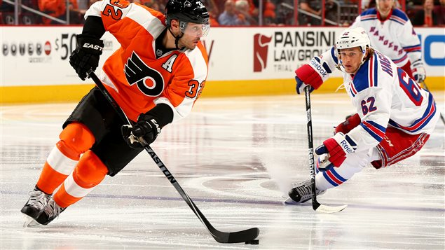 Les Flyers l'emportent contre les Rangers