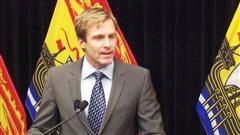 Le premier ministre désigné, Brian Gallant