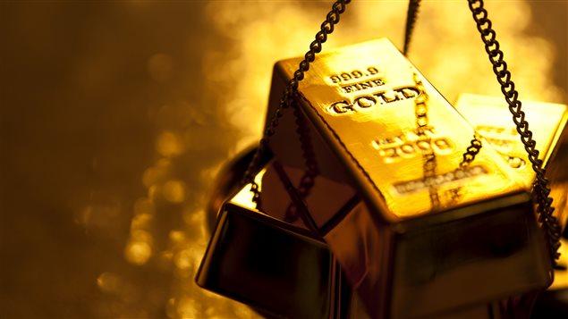 Lingot d'or (image générique)