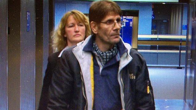 Frank Rubert au procès de Luka Magnotta à Montréal