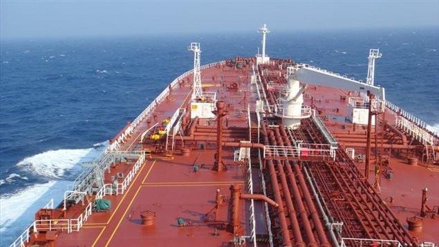 Le pétrolier Genmar Daphne devrait arriver à Sorel-Tracy le 12 octobre pour charger jusqu'à 100 000 tonnes de pétrole des sables bitumineux