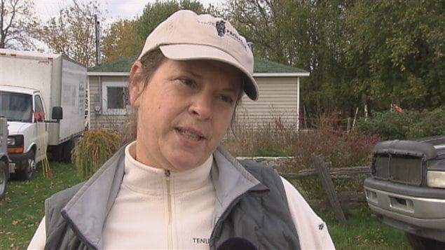 Louise Brancheau, propriétaire du refuge pour animaux Tenir Promesse