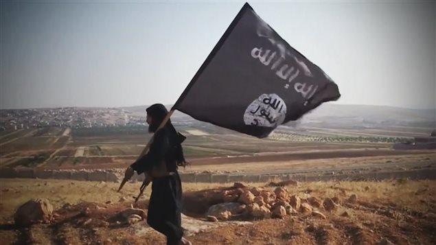 drapeau état islamique califat