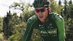 Antoine Duchesne au départ du Tour de France