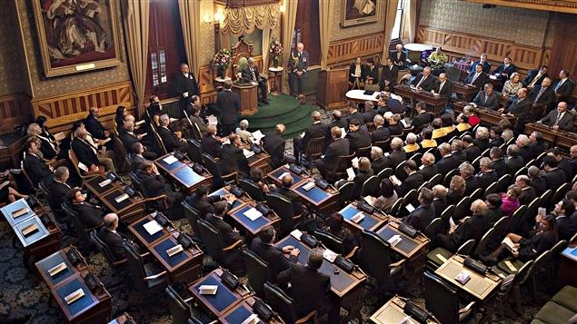 L'Assemblée législative de Fredericton