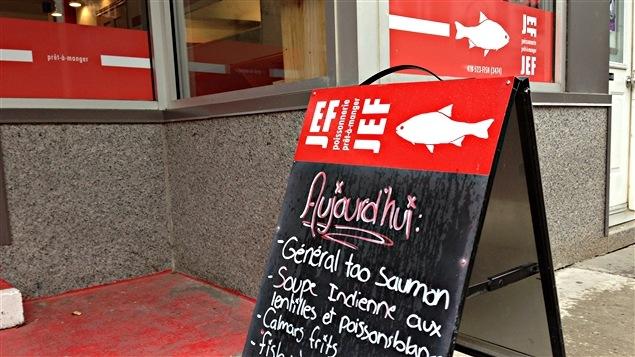 Jef Poissonnerie : «C'est le style de petite boutique spécialisée qui pourrait faire toute la différence au centre-ville de Trois-Rivières pour peut-être ajouter une plus-value à une future première épicerie.» - Catherine Raymond