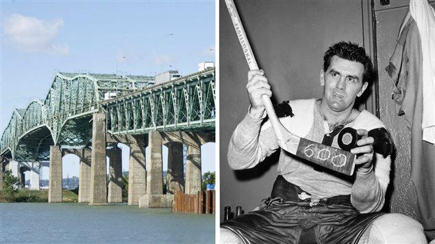 Le pont Champlain et Maurice Richard