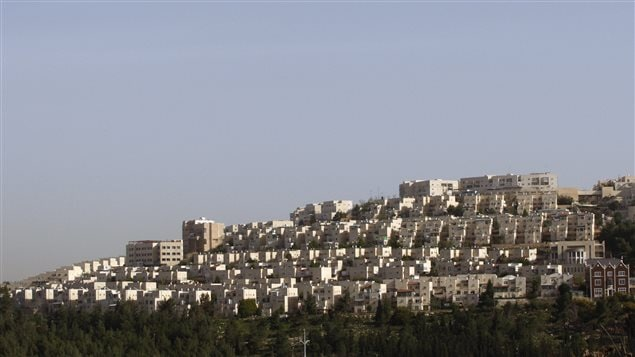 La colonie juive Ramat Shlomo