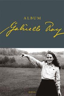 Détail de la couverture de l'«Album Gabrielle Roy», de François Picard.