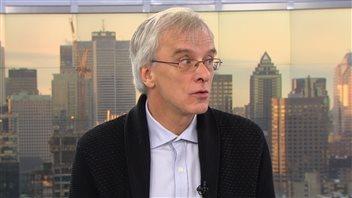 Marc Turgeon, vice-recteur à la vie universitaire de l'UQAM