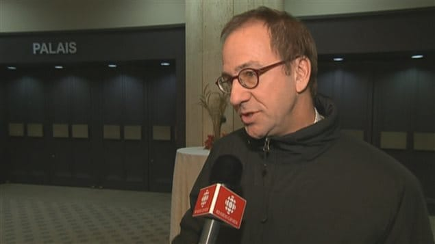 Alain Fortier, président de la Commission scolaire des Découvreurs