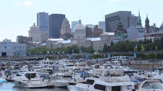 Montréal vue du Vieux port