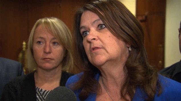 Suzanne Roy, présidente de l'UMQ et mairesse de Sainte-Julie