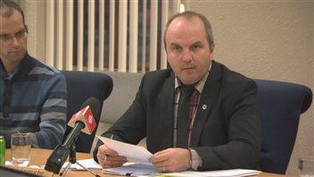 Le maire de Roberval, Guy Larouche (archives)
