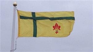 Le drapeau fransaskois.