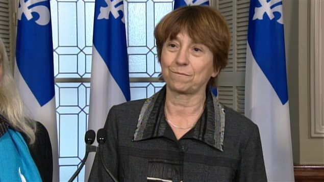 Françoise David de Québec Solidaire