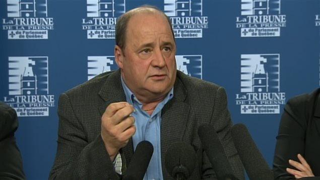 Le président de La Fédération indépendante des syndicats autonomes, Jean Gagnon