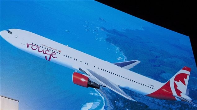 Air canada rouge lance des vols l 39 int rieur du canada for Interieur avion air canada