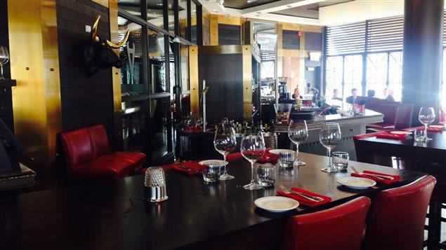 Le restaurant L'Aurochs au Quartier Dix30