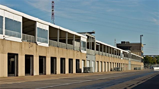 Les garages du circuit Gilles-Villeneuve