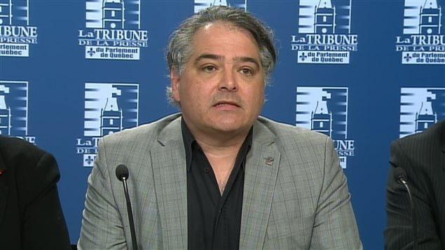 Sylvain Malette, président de la FAE