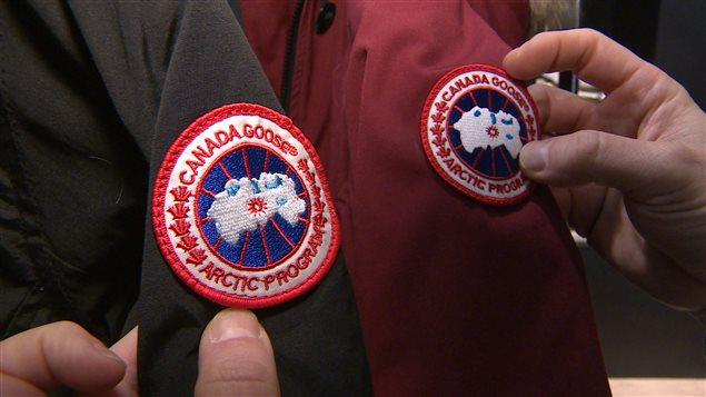 how to clean canada goose badge
