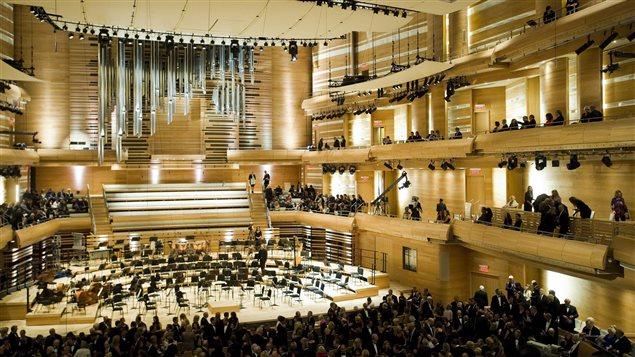 Inauguration de la Maison symphonique de Montréal le 7 septembre 2011