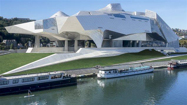 Le Musée des confluences à Lyon en France