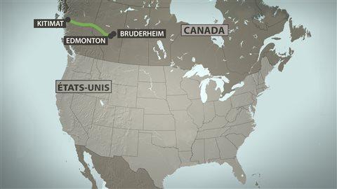 Le projet de pipeline Northern Gateway