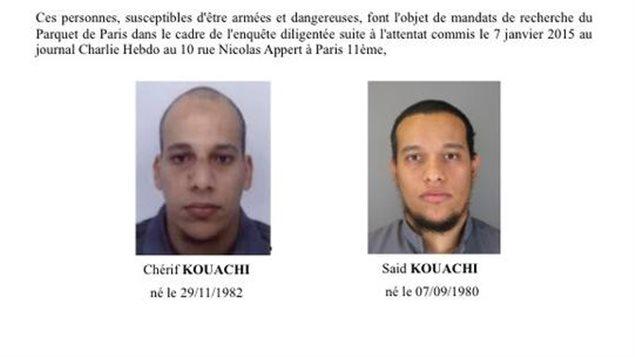 L'appel à témoins lancé par la police française