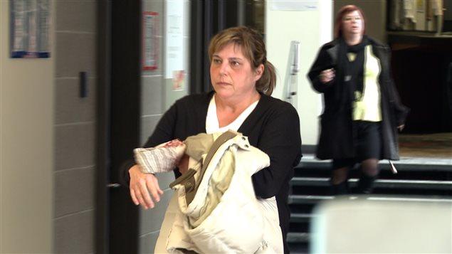 France Michaud, ex vice-présidente du groupe Roche, coaccusée.