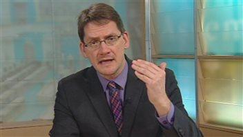 Le député de Jonquière, Sylvain Gaudreault