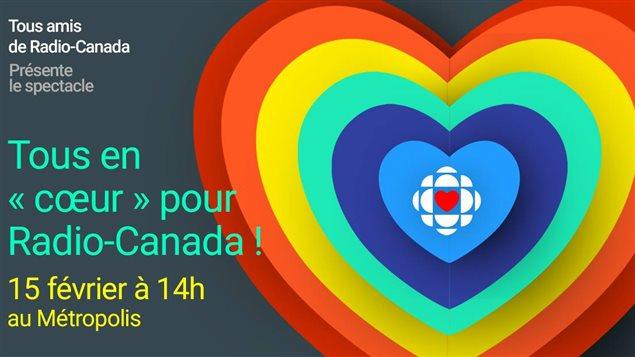 Le spectacle Tous en «coeur» pour Radio-Canada aura mettra notamment en vedette Ariane Moffat, Louis-Jean Cormier, Paul Piché, Yann Perreau, Damien Robitaille et Alex Nevsky.