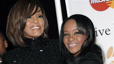 Whitney Houston et sa fille Bobbi Kristina Brown, en 2011